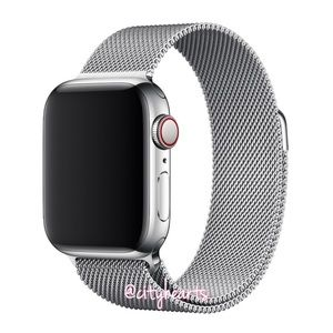 Accessories - NEW Silver Magnetic Mesh BAND For Apple Watch